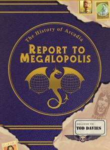 REPORT to MEGALOPOLIS book cover sm